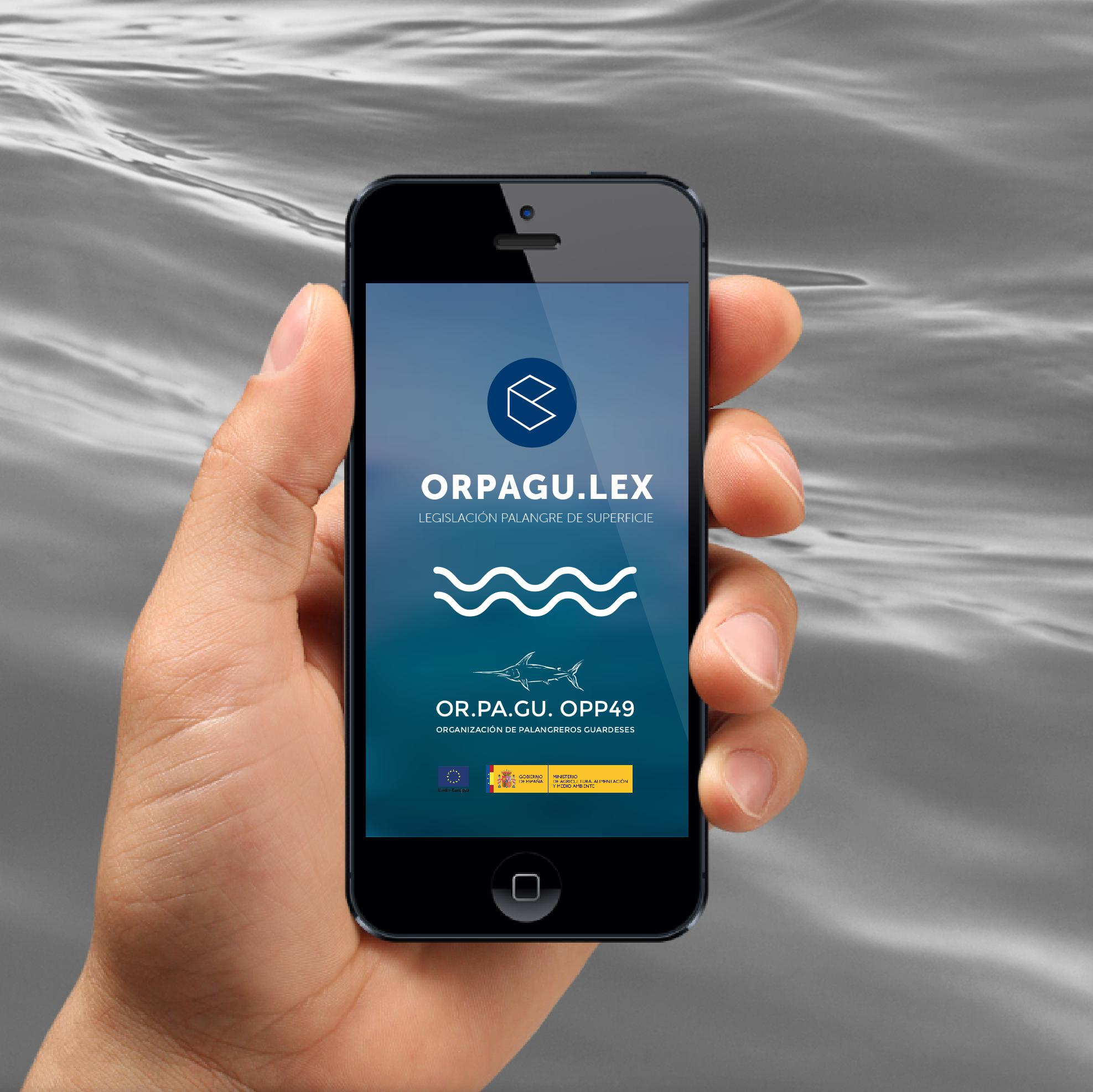 ORPAGULEX app, inovación en pesca