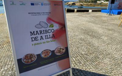 La OPP20 pone en marcha la marca «Marisco de A Illa» y la campaña de promoción «O Pracer Na Túa Boca!» de la mano de Inxenia